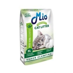 Mio Cat Aloe Vera Topaklanan İnce Taneli Kedi Kumu 5 Lt
