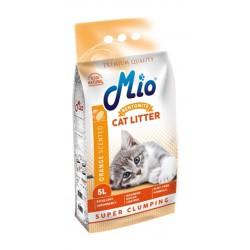 Mio Cat Portakal Topaklanan İnce Taneli Kedi Kumu 5 Lt