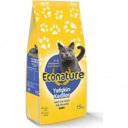 Econature 1 KG Balıklı Yetişkin Kedi Maması
