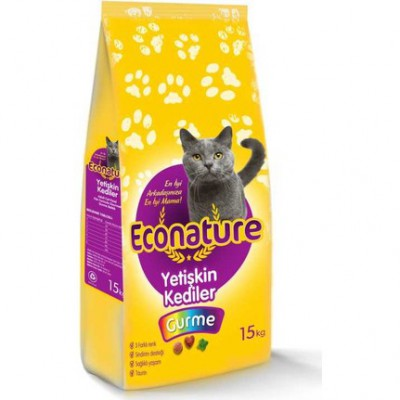 Econature 1 KG Gurme Kedi Maması