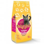 Econature 1 KG Tavuklu Yetişkin Kedi Maması