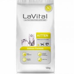 La Vital Kitten Somonlu Yavru Kedi Maması 1KG AÇIK