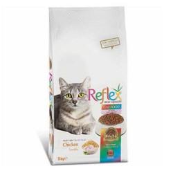 Reflex Renkli Taneli Tavuklu Kedi Maması