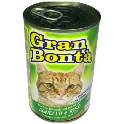 Gran Bonta Kedi Konservesi Kuzulu 415gr
