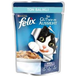 Felix Ton Balıklı Yetişkin Kedi 100gr